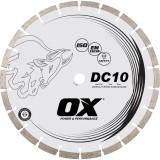 Ox DC10  Cuchilla de diamante de propósito general segmentada estándar