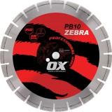 Ox Professional PB10 Abrasivo de hoja de diamante segmentada