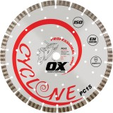 Ox Professional PC15 Supercet Cuchilla de diamante segmentada