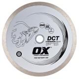Ox Standard DCT Continuous Rim Diamond Blade   Ceramics