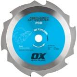 Ox Ultimate PCD Lámina de cemento de fibra