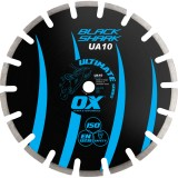 Ox Ultimate UA10 Asfalto segmentado de la cuchilla del diamante del tiburón negro