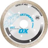 Ox Ultimate UCT Cuchilla continua de diamante de borde Todos los azulejos